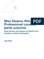 Eleanor Wilson Decision