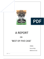 betrayal essay best of five case