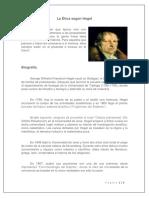 La Ética de Hegel