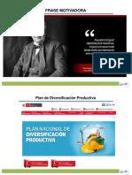 plan nacional de diversificacion productiva