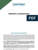 Addendas ContaPAQ