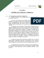 Sistema de Dercho Comercial Peru