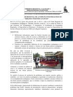 INFORME II TALLER REGIONAL DE ACOMPAÑANTES PEDAGÓGICOS.pdf