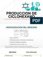 Produccion de Ciclohexano