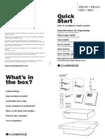 Cstart Guide