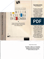 Familia y Cultura en Colombia
