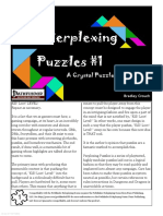 Perplexing Puzzles 1 a Crystal Puzzle is Forever (11971083)