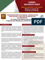 Curso Invierte Peru