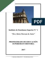 Cuadernillo Ingreso Historia 20 17