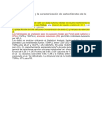 La hidrólisis ácida y la caracterización de carbohidratos de la pulpa de café.docx