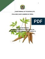 Producão de Mandioca e Derivados No Assentamento Baronesa Em Abreulandia-To