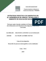 CTA Estrategia Didáctica 2015 Peru