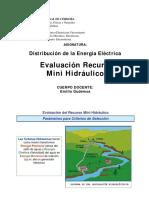 1 Evaluación Del Recurso Mini Hidráulico, UNC