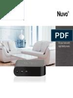 Brochure Nuvo 2016