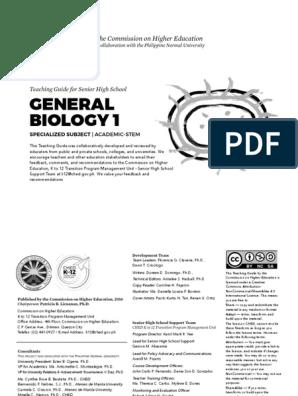 General Biology 1 | Cellular Respiration | Organelle