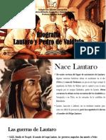Lautaro y Pedro de Valdivia