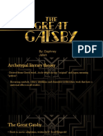 Great Gatsby Literary Theory Presentation