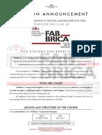 Edital Academia Ópera Roma