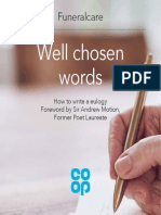 Funeralcare How to Write a Eulogy 0039