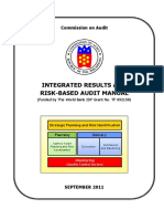 Integrated Results and Risk-Based Audit Manual