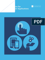 Test Strategies for Mobile Device Applications