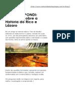 Questões Sobre a História Do Rico e Lázaro