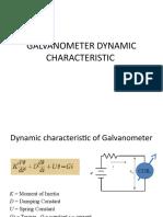 6. Galvanometer Dynamic Characteristic