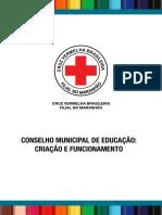 Cartilha ConselhoMunicipalEducação CruzVermelhaMA Página