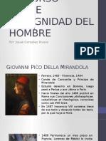 Discurso sobre la dignidad del hombre - Pico Della Mirandola