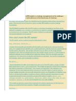 Internal Factor Evaluation