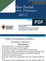 Memorias Curso Saber Social Putumayo 2017
