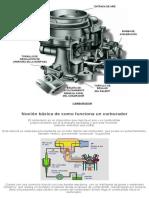 El Carburador_ Funcionamiento y Fallas Probables - Taringa!