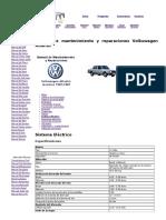 Manual Sistema Eléctrico Volkswagen Atlantic