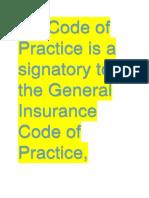 Code of PracticeMk7