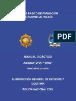 6. Manual de Tiro 2016