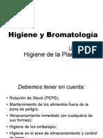 Tema Hig. y Bromato Unidad 4 Consideraciones