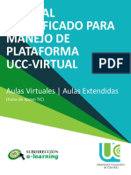 Manual Simplificado Manejo Plataforma UCC VIRTUAL