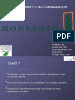 Sales and Distribution-MONSANTO