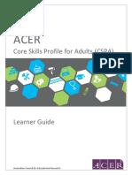 CSPA Learner Guide February 2016