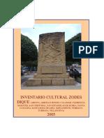 Inventario Cultural ZODES Dique