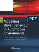 Modeling Driver Behavior in Automotive Environments