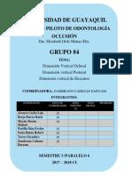 Grupo 4 Oclusion