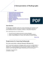 Viewing and Interpretation of Radiographs
