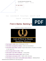 First in Banks_ Banking History _ Bank Exams Today