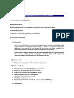 Resumen Ejecutivo Inventario de Aves Pk