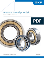 SKF Industrial PricelistApril2017 Edition2