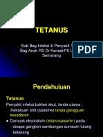 Kuliah s1 Tetanus 2010
