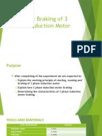 Inductin Motor Dynamic Braking