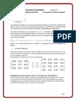 Informe de Alg. Lineal