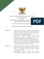 PMK No. 19 Ttg Pendanaan Program Indonesia Sehat Dengan Pendekatan Keluarga -1